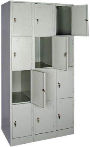 Шкаф металлический для сумок ШРМ - 312 купить на выгодных условиях в Барнауле