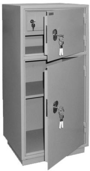 Шкаф металлический бухгалтерский КБ - 042т / КБС - 042т купить на выгодных условиях в Барнауле