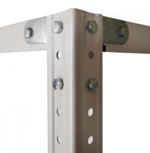 Комплект крепежа (1 комплект) для металлического стеллажа купить на выгодных условиях в Барнауле