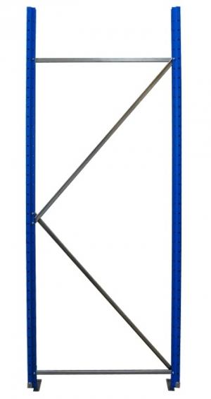 Рама для складского металлического стеллажа 2500x800 купить на выгодных условиях в Барнауле
