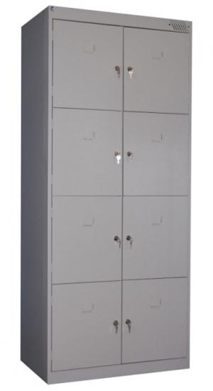 Шкаф металлический для сумок ШРК-28-600 купить на выгодных условиях в Барнауле