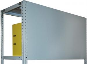 Стенка 50/100 для металлического стеллажа купить на выгодных условиях в Барнауле