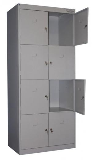 Шкаф металлический для сумок ШРК-28-800